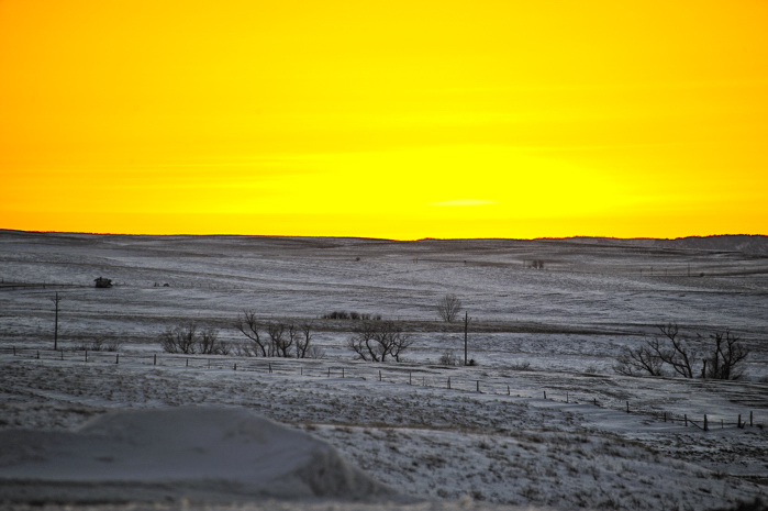 Chadron, Nebraska Sunset, copyright Diana Robinson Photography